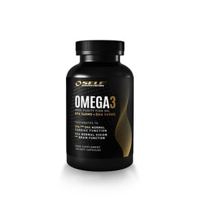 Active Omega-3, 120 kapslar, Self