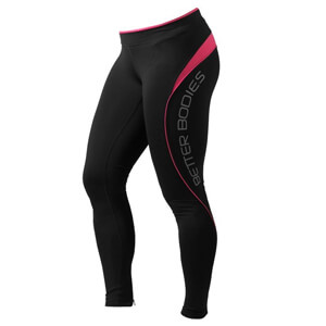 Kolla in Fitness Long Tights, hot pink, Better Bodies hos SportGymButiken.se