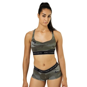 Kolla in Athlete Short Top, camoprint, Better Bodies hos SportGymButiken.se