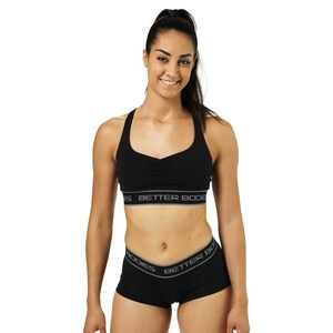 Athlete Short Top, black, Better Bodies i gruppen Produktkyrkogården hos Sportgymbutiken.se (BB-110710-999r)