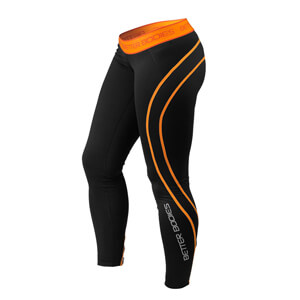 Athlete Tights, black/orange, Better Bodies i gruppen Produktkyrkogården hos Sportgymbutiken.se (BB-110712-987r)