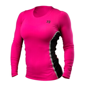 Performance Shape Long Sleeve, hot pink, Better Bodies i gruppen Kläder / Dam / Tröjor & skjortor / Funktionströjor hos Sportgymbutiken.se (BB-110797-462r)
