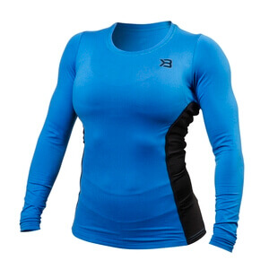 Performance Shape Long Sleeve, bright blue, Better Bodies i gruppen Kläder / Dam / Överdelar / Toppar hos Sportgymbutiken.se (BB-110797-543r)