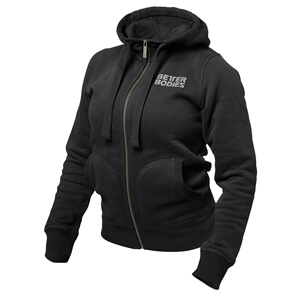 Kolla in BB Soft Hoodie, black, Better Bodies hos SportGymButiken.se