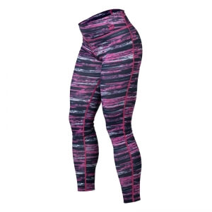 Printed Tights, black/pink, Better Bodies i gruppen Kläder / Dam / Byxor / Träningstights hos Sportgymbutiken.se (BB-110807-991r)