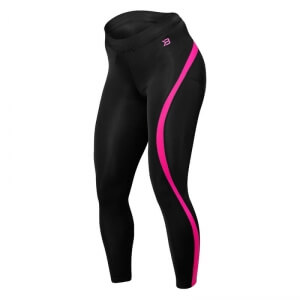 Kolla in Curve Tights, black/pink, Better Bodies hos SportGymButiken.se