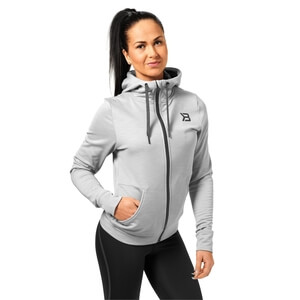 Kolla in Performance Hoodie, grey melange, Better Bodies hos SportGymButiken.se