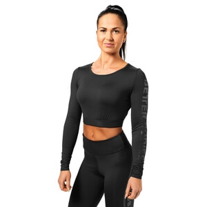 Kolla in Chelsea Cropped L/S, black, Better Bodies hos SportGymButiken.se
