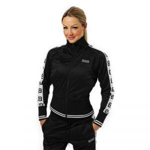 Kolla in Trinity Track Jacket, black, Better Bodies hos SportGymButiken.se