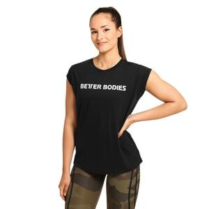Astoria Tee, black/black, Better Bodies