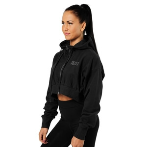 Kolla in Astoria Cropped Hood, black, Better Bodies hos SportGymButiken.se