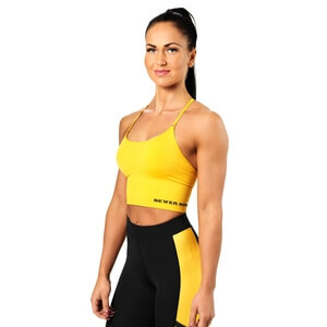 Kolla in Astoria Seamless Bra, yellow, Better Bodies hos SportGymButiken.se