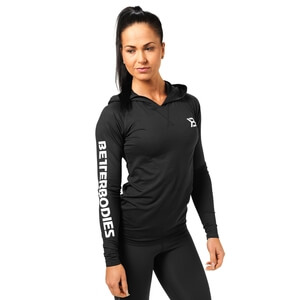 Kolla in Performance Ls Hood, black, Better Bodies hos SportGymButiken.se