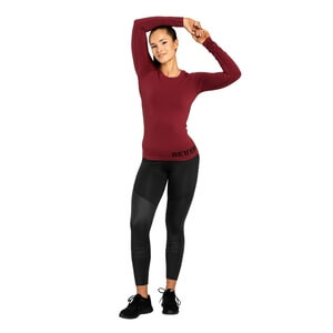 Kolla in Nolita Seamless Ls, sangria red, Better Bodies hos SportGymButiken.se