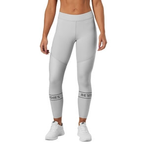 Kolla in Chrystie Shiny Tight, frost grey, Better Bodies hos SportGymButiken.se