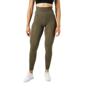 Kolla in Bowery High Tights, khaki green, Better Bodies hos SportGymButiken.se