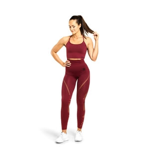 Kolla in Waverly Tights, sangria red, Better Bodies hos SportGymButiken.se