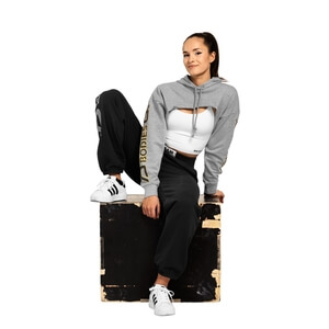 Kolla in Highbridge Crop L/S, greymelange, Better Bodies hos SportGymButiken.se