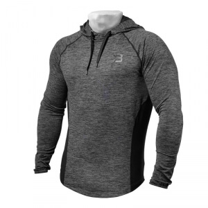 Kolla in Performance Mid Hood, graphite melange, Better Bodies hos SportGymButik
