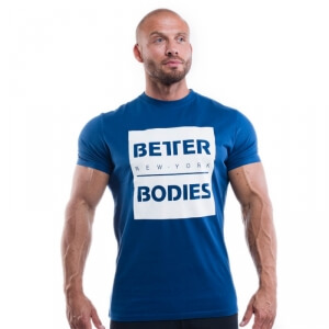 Kolla in Casual Tee, navy, Better Bodies hos SportGymButiken.se