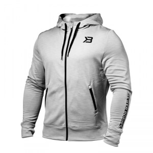 Kolla in Performance PWR Hood, grey melange, Better Bodies hos SportGymButiken.s