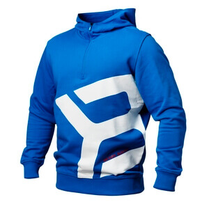 Kolla in Brooklyn Zip Hood, strong blue, Better Bodies hos SportGymButiken.se