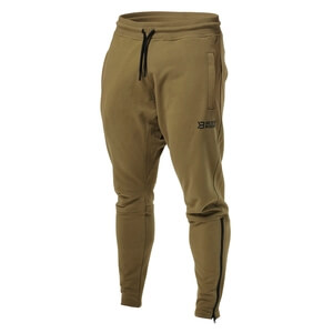 Kolla in Harlem Zip Pants, military green, Better Bodies hos SportGymButiken.se