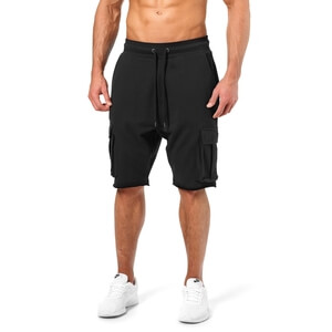 Bronx Cargo Shorts, wash black, Better Bodies
