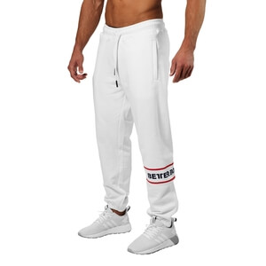 Kolla in Tribeca Sweat Pants, white, Better Bodies hos SportGymButiken.se