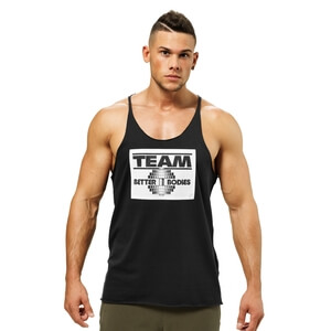 Kolla in Team Bb Raw Cut Tank, black, Better Bodies hos SportGymButiken.se
