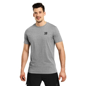 Kolla in Essential Tee, grey melange, Better Bodies hos SportGymButiken.se