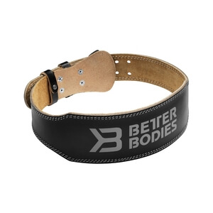 Weight Lifting Belt, black, Better Bodies i gruppen Sport & Fitness / Träningstillbehör / Bälten hos Sportgymbutiken.se (BB-130306-999r)