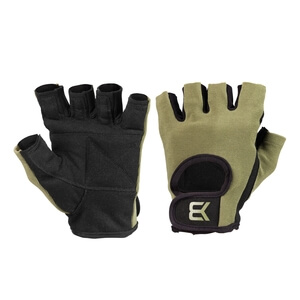 Kolla in Basic Gym Gloves, khaki green, Better Bodies hos SportGymButiken.se