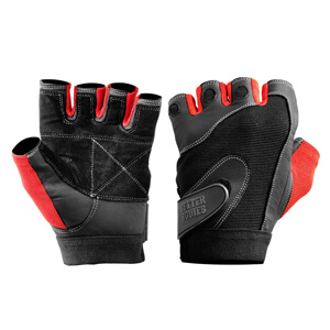 Kolla in Pro Lifting Gloves, black/red, Better Bodies hos SportGymButiken.se