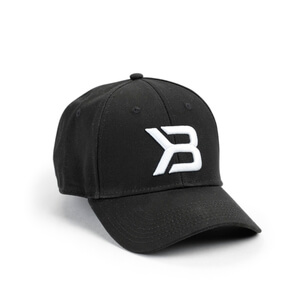 Kolla in BB Baseball Cap, black, Better Bodies hos SportGymButiken.se