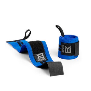 Kolla in BB Wrist Wrap 18 inch, strong blue, Better Bodies hos SportGymButiken.s