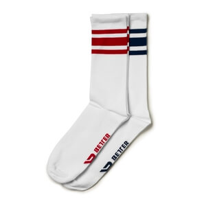 Kolla in Brooklyn Socks, 2-pack, navy/red, Better Bodies hos SportGymButiken.se