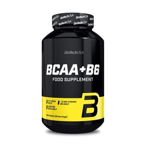 BCAA + B6, 200 tabletter, BioTech USA