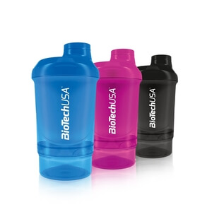 Shaker Wave+ Nano, 300 ml (+150 ml), BioTech USA