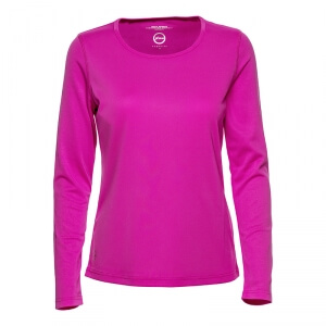 Kolla in Base L/S Tee, knockout pink, Daily Sports hos SportGymButiken.se