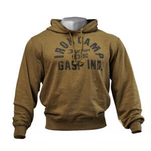 Kolla in Throwback Hoodie, military olive, GASP hos SportGymButiken.se