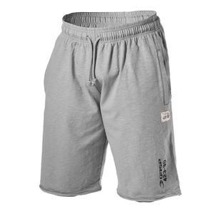 Throwback Sweat Shorts, light grey, GASP i gruppen Kläder / Herr / Byxor / Shorts hos Sportgymbutiken.se (GA-220753-921r)