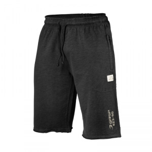 Kolla in Throwback Sweatshorts, wash black, GASP hos SportGymButiken.se