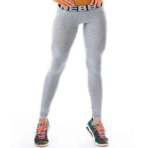 Kolla in Scrunch Butt Tights, light grey, Nebbia hos SportGymButiken.se