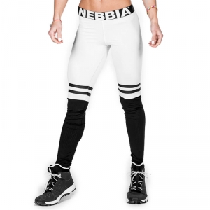 Over The Knee Tights, white, Nebbia i gruppen Kläder / Dam / Byxor / Träningstights hos Sportgymbutiken.se (GW-286-04r)