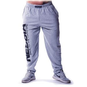 Kolla in Hardcore Fitness Sweatpants, grey, Nebbia hos SportGymButiken.se
