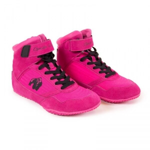 Kolla in GW High Tops Shoe, pink, Gorilla Wear hos SportGymButiken.se