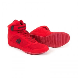 Kolla in GW High Tops Shoe, red, Gorilla Wear hos SportGymButiken.se