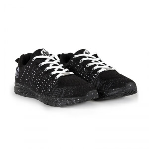Brooklyn Knitted Sneakers, black/white, Gorilla Wear