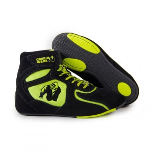 Kolla in Chicago High Tops LTD, black/neon lime, Gorilla Wear hos SportGymButike